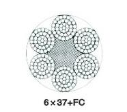 6×37(b)类圆股钢丝绳(ZS0303)